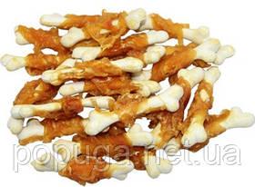 Лакомство для собак PAUSE snack КОСТОЧКА кальцинированная с куриным филе, 500г