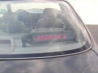 Бегущая строка в авто P750 с красными диодами.