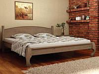 Кровать деревянная Манхеттен 160х200 Mebigrand сосна орех темный