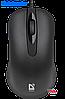 Мышь Defender Classic MB-230 Black (52230)