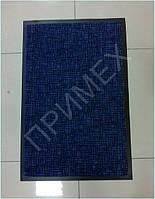 Коврик грязесборный 60х90см., синий, под дверь, для очистки от грязи. Цена на грязезащитный коврик