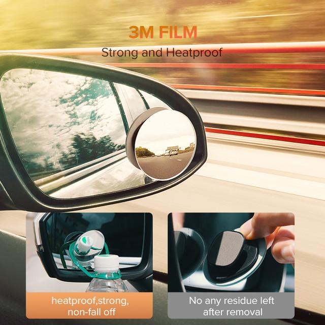 Автомобильное зеркало полного обзора слепых зон Ugreen 60971 (2 шт)