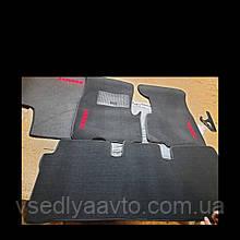 Ворсовые коврики в салон HONDA CR-V (1998-2002) МКП
