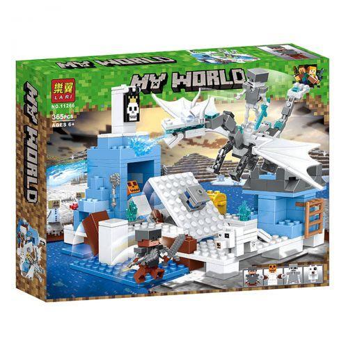 "Конструктор ""My World Minecraft: Ледяная ловушка"" аналог Лего Майнкрафт, 365 дет scs"