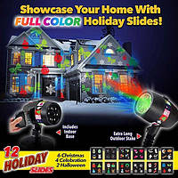 Лазерный проектор full color holiday slides