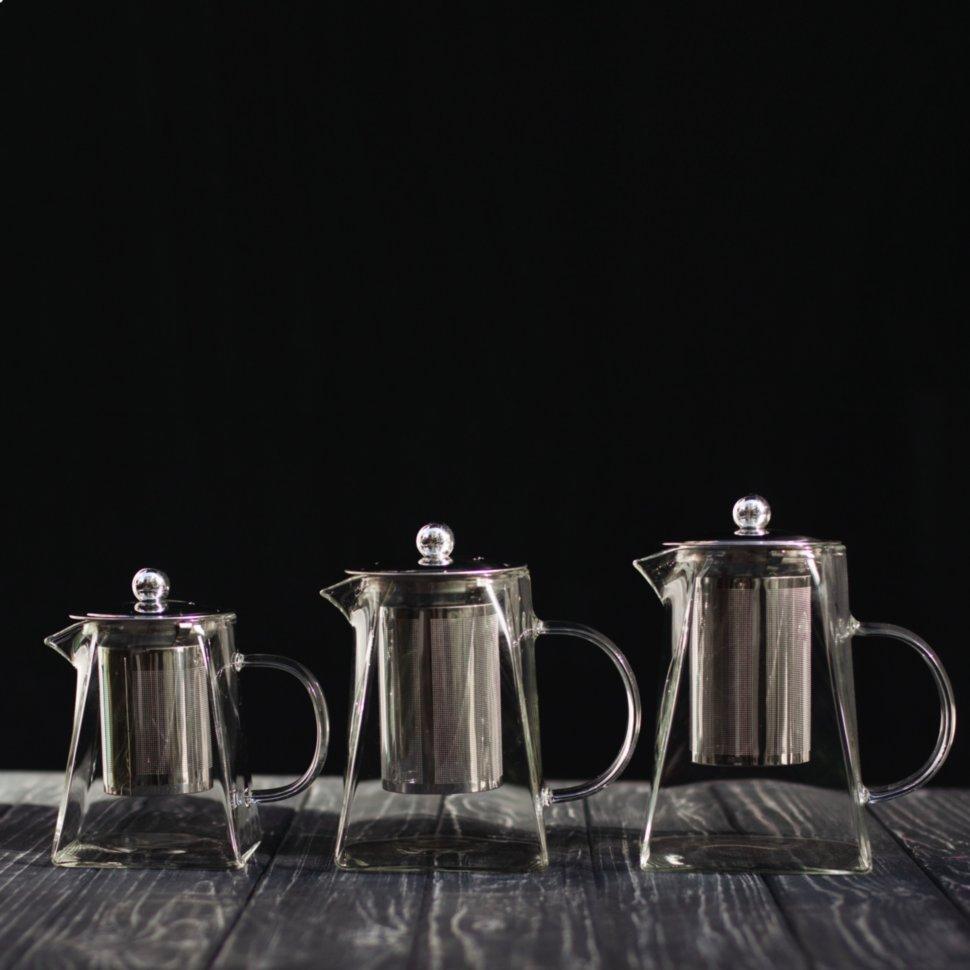 """Чайник с заварником """"Pom Pom"""", чайник с ситом, заварник"""