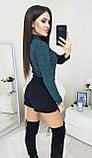 Гольфик женский бордо, бутылка, серый, синий, графит, 42, 44, 46, 48, фото 6