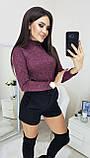 Гольфик женский бордо, бутылка, серый, синий, графит, 42, 44, 46, 48, фото 7