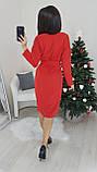 Платье женское красное, чёрное, тёмно синее, электрик, 42-44; 46-48; 50-52; 52-54; 58-60; 62-64, фото 2