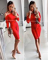 Платье женское вечернее, красное, чёрное, электрик 42-44, 44-46