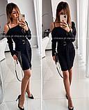 Платье женское вечернее, красное, чёрное, электрик 42-44, 44-46, фото 2