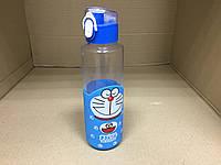 """Термобутылка в силиконовом чехле с поилкой """"Кот Дораэмон"""" 380 мл"""