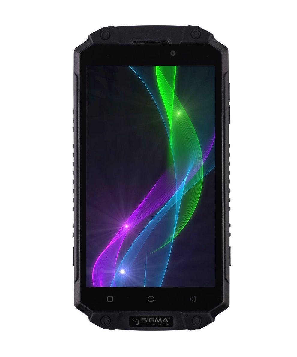 """Смартфон для активного відпочинку з дуже потужною батареєю і швидкою зарядкою 5,5"""" 8 ядер 3/32Gb Sigma X-treme PQ39"""