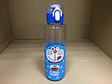 """Термобутылка в силиконовом чехле с поилкой """"Кот Дораэмон"""" 380 мл, фото 2"""