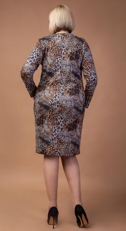 Нарядное женское платье из шлифованной ангоры, фото 2