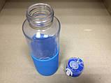 """Термобутылка в силиконовом чехле с поилкой """"Кот Дораэмон"""" 380 мл, фото 5"""
