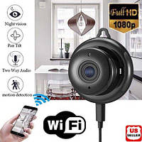 Беспроводная мини WIFI IP-камера HD 1080P ночного видения Умный дом камеры безопасности