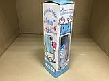 """Термобутылка в силиконовом чехле с поилкой """"Кот Дораэмон"""" 380 мл, фото 7"""