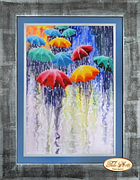 Веселые зонтики