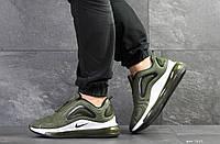 Мужские кроссовки в стиле Nike Air Max 720, сетка, воздушная подушка, зеленые 41 (26,2 см)
