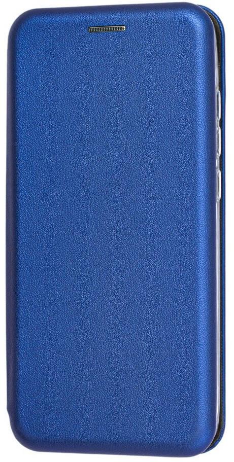 Чехол (книжка) премиум для Xiaomi Redmi Note 8синяя