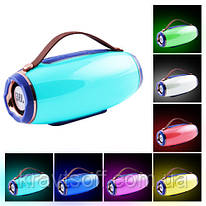 Bluetooth-колонка AK202 LIGHT SHOW 3D BASS SOUND, STRONG BATTERY, c функцией Power Bank, speakerphone, радио