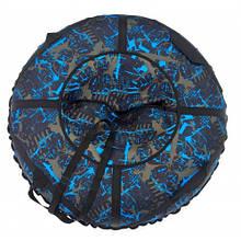 Тюбинг надувные санки Саламандра 100см