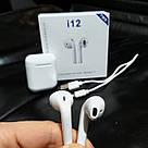 🎧Беспроводные Наушники для Apple iPhone Android Bluetooth 5.0 TWS i12, фото 7