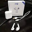 🎧Беспроводные Наушники для Apple iPhone Android Bluetooth 5.0 TWS i12, фото 6