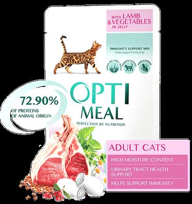 Консерви для кішок OptiMeal