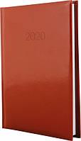 Ежедневник Economix 2020 Flash А5 датированный 352 страницы Коричневый (E21606-07)