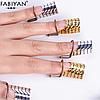Формы для наращивания ногтей, многоразовые, 5 шт/упак, фото 2