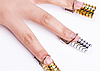 Формы для наращивания ногтей, многоразовые, 5 шт/упак, фото 8