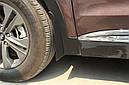 Брызговики MGC Hyundai Santa Fe Европа 2012-2018 г.в. комплект 4 шт 2WF46AC200, 868322W000, фото 6