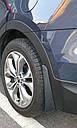Брызговики MGC Hyundai Santa Fe Европа 2012-2018 г.в. комплект 4 шт 2WF46AC200, 868322W000, фото 8