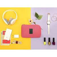 Органайзер для зарядок и прочих мелочей Monopoly Cable Pouch Розовый