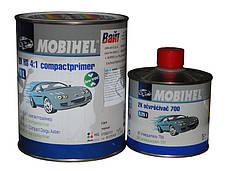 Грунт компактпраймер Mobihel HS 4+1серый 1л + отвердитель 700, 0.25л