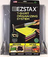 Система хранения одежды T-shirt organizing system EZSTAX, 10 шт