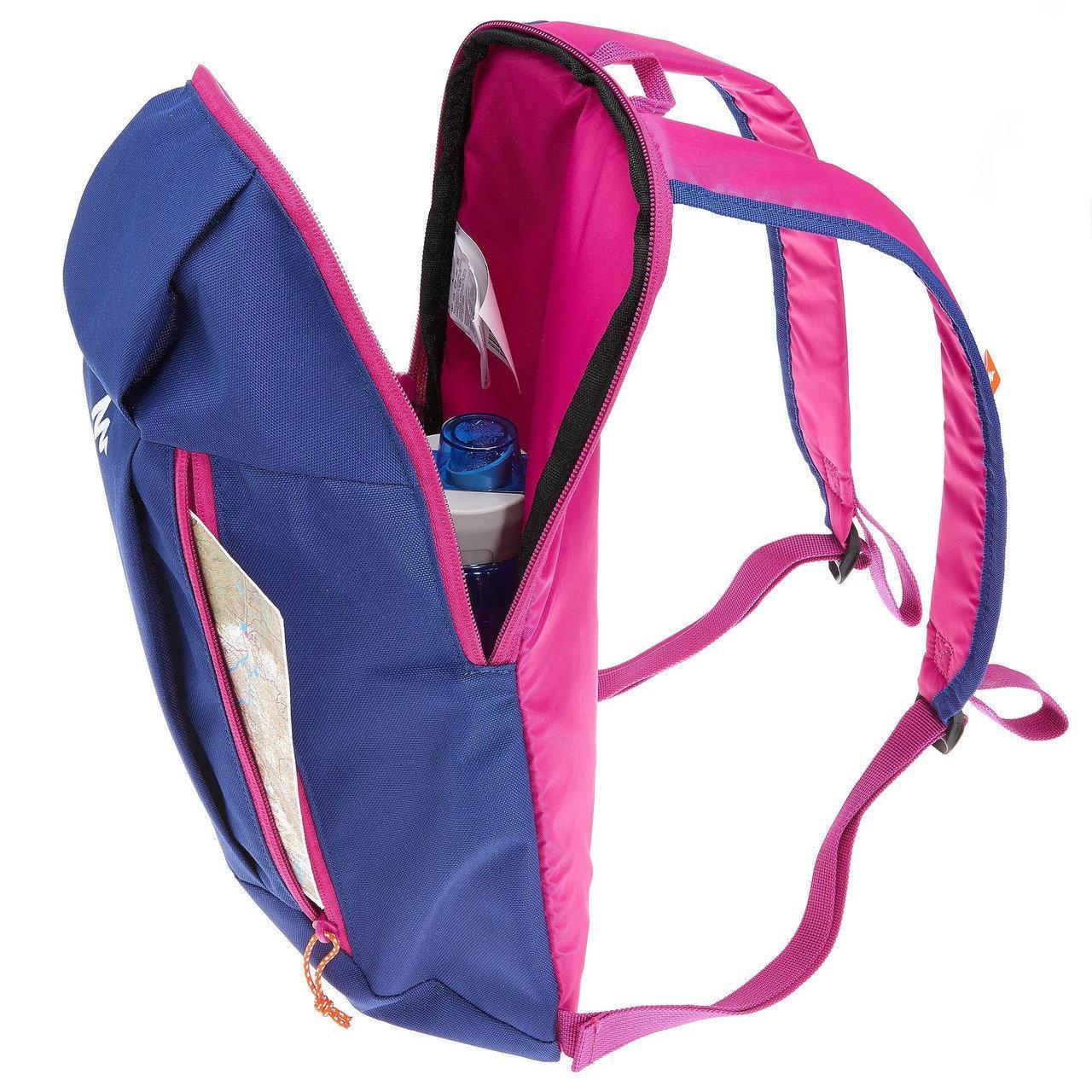 Спортивный рюкзак QUECHUA 10L, фиолетовый, фото 4