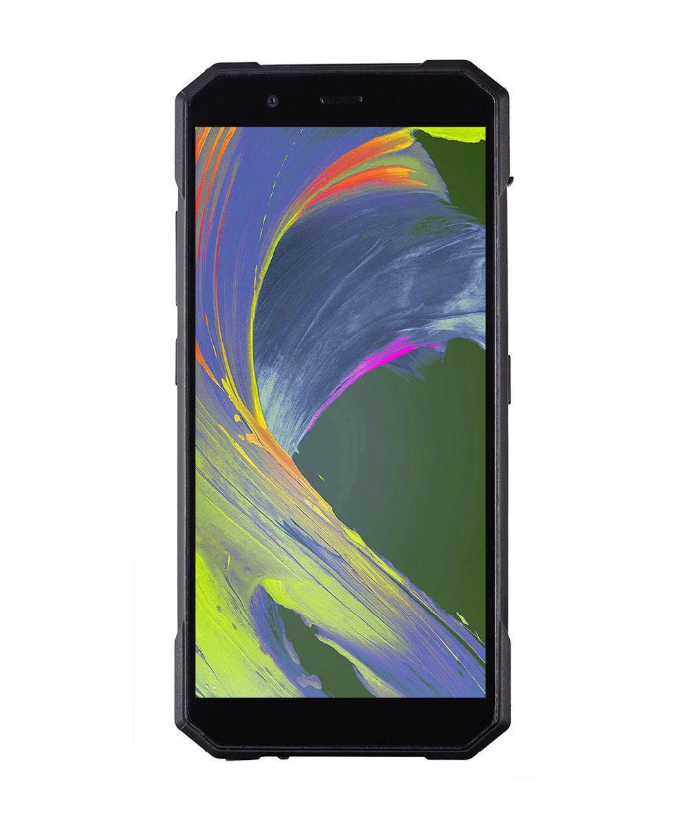 """Смартфон для активного відпочинку зі сканером відбитків пальців 5,7"""" 2/16Gb Sigma X-treme PQ53 чорний"""