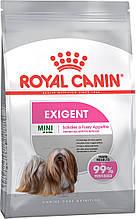 Сухой корм для привередливых собак малых пород Royal Canin Mini Exigent 3 кг