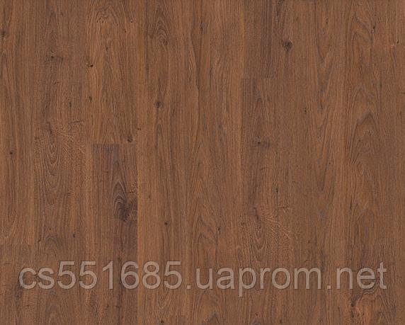 RIC1429-Дуб белый коричневый 32 кл, 8 мм, с фаской ламинат Rustic Quick-Step