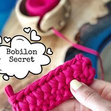 Как спрятать хвостик пряжи и аккуратно оформить край вязания
