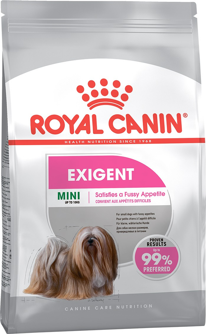 Сухой корм для привередливых собак малых пород Royal Canin Mini Exigent 1 кг