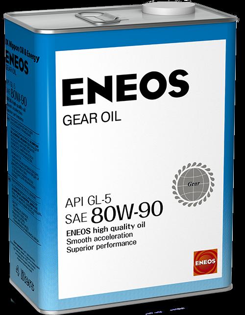 Трансмиссионное масло ENEOS GL-5 80W-90  4лит.