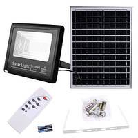 Прожектор 9100 100W SMD, IP67, солнечная батарея, пульт ДУ, встроенный аккумулятор, таймер, датчик света, фото 1