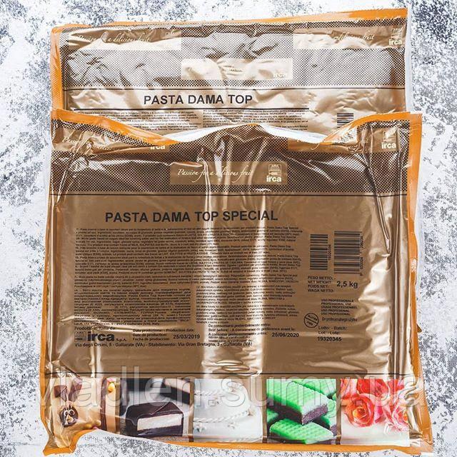 Универсальная сахарная паста (сахарная мастика) Pasta Dama Top SPECIAL 2,5 кг IRCA / Ирка, Италия