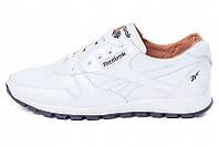 Мужские кроссовки Reebok Classic Leather Lux White Pearl белые р.41 Акция -53%!