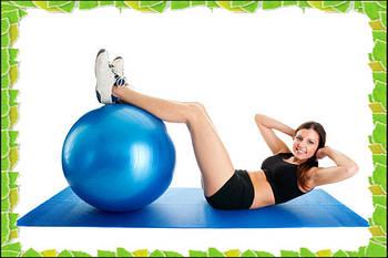 Мяч для фитнеса gymnastic ball 55