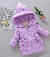 Оригинальная зимняя куртка для девочки. Звезды
